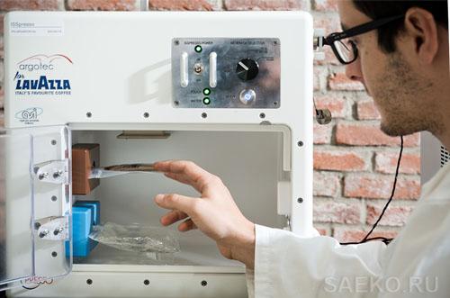 Кофемашина ISSpresso прошла полный цикл тестов в лабораторных условиях